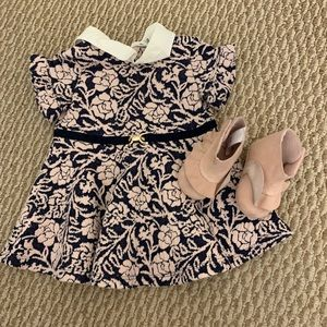 Janie and jack dress with shoes